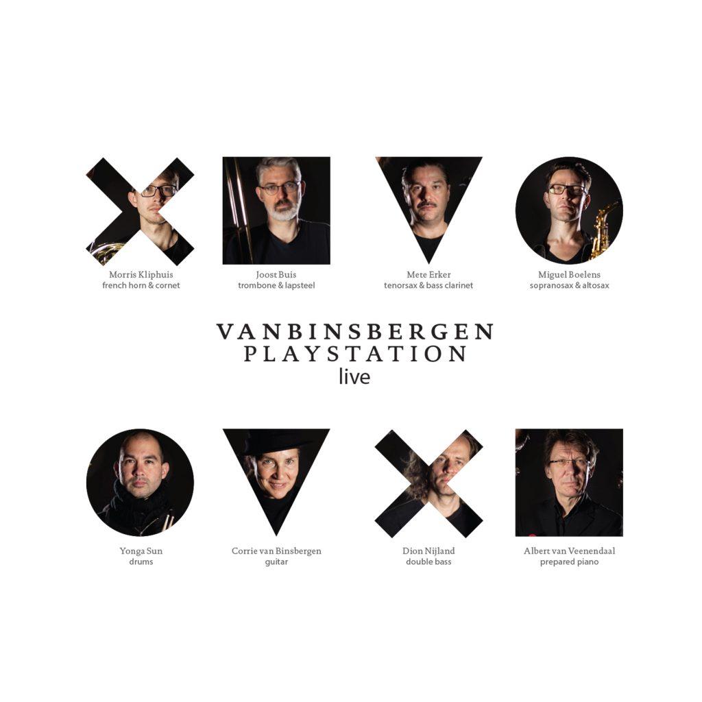 Album Live by Corrie van Binsbergen
